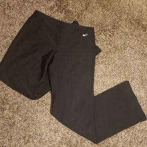 Nike black workout pants